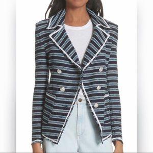 Veronica Beard Carroll Striped Jacket Blazer 4